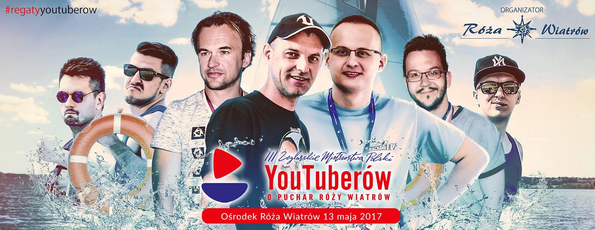 III Żeglarskie Mistrzostwa Polski YouTuberów o Puchar Rozy Wiatrow