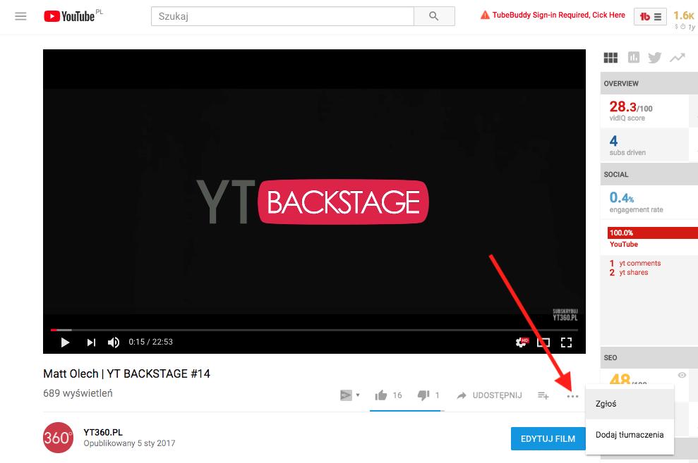 def91824001cc5 YouTube: Jak usunąć film? - YT360.PL